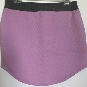 Adidas skirt tennis quilted size small